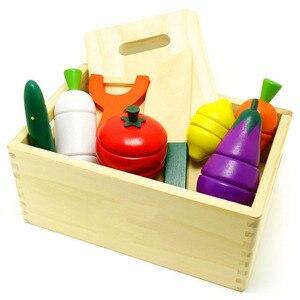 Деревянные кухонные игрушки, для детей, для раннего образования, 1 шт.