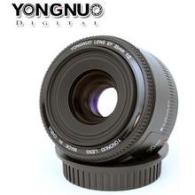 yongnuo lens tamron camara reflex Recién llegado! Original YONGNUO lente YN 35 mm f / 2 gran apertura de gran angular enfoque automático de la lente para Canon EOS DSLR cámara