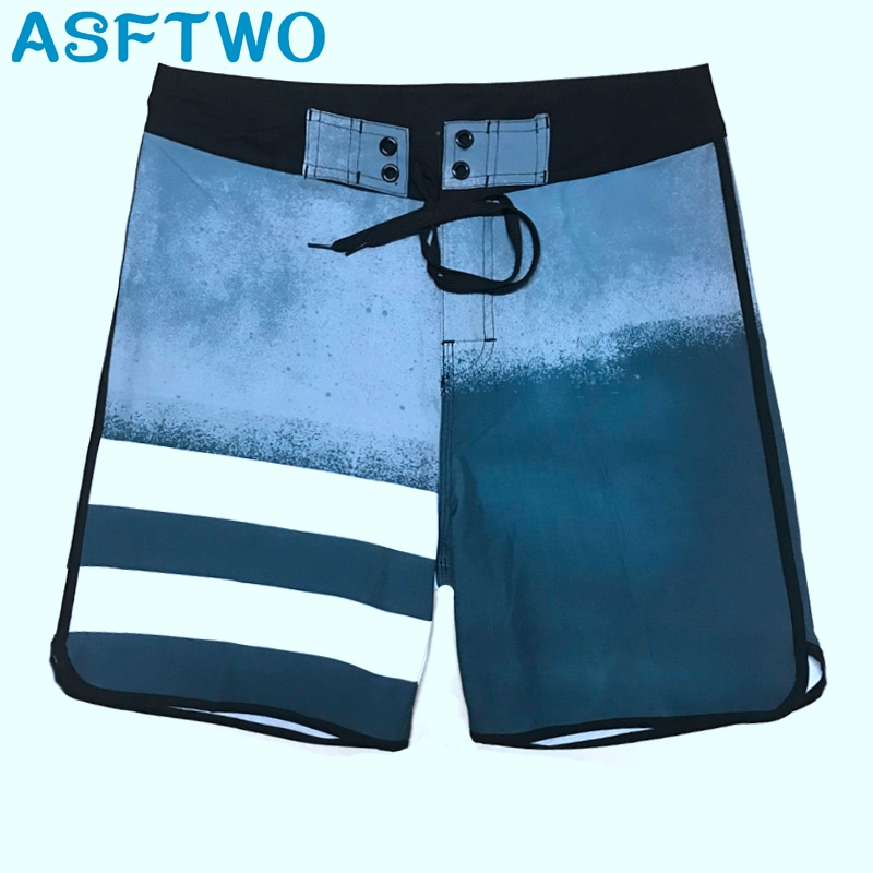 Mens Elastic Fabric Sports Shorts Surf Board Shorts Summer Beach Pants Home Bermuda Quick Dry Gym Shorts in Board Shorts from Men 39 s Clothing