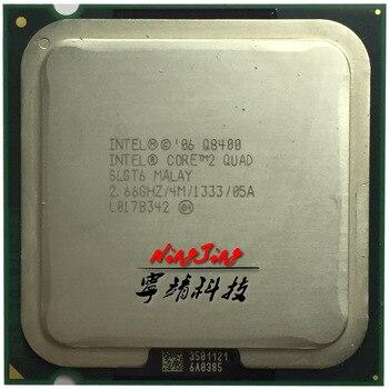 Intel Core 2 Quad Q8400 2,6 ГГц четырехъядерный процессор 4M 95W LGA 775