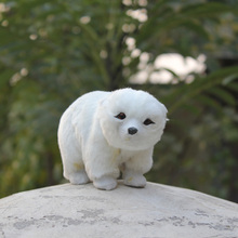 Factory Sale Fur Covered small polar bear