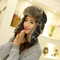 2016 women Winter fur hat Thermal Fleece Balaclava Hood Swat Ski Winter Stopper Face Mask for Skulls & Beanies Scarf Hat Cap