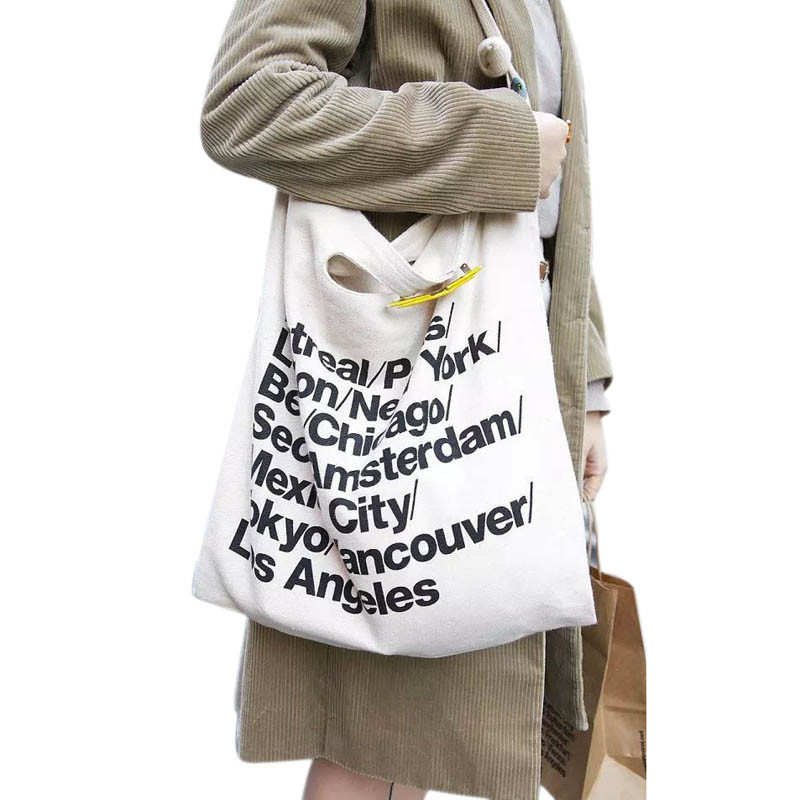 2017 Brand New Hot Sale Women HandbagsTrend American Apparel Canvas Shoulder Bag Casual Women Messenger Bags Shopping Bag bolsas