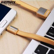 Cabo de Dados para Samsung Remax Metal Platina Rc-044m Usb Carregador Huawei Sony Nokia