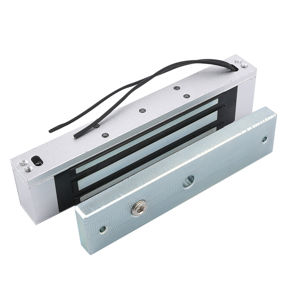 Access Control Electric Magnetic Door Lock 180KG 12V Electric Lock Holding Force High Quality force     - title=