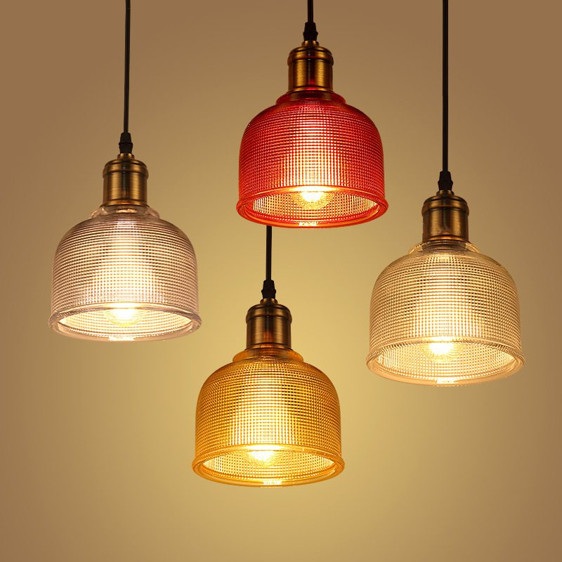 Glass Pendant Light Metal Net Office Colored Lighting Lights Single Bar Lamp Color New Office Creative Cafe Restaurant new loft vintage iron pendant light industrial lighting glass guard design bar cafe restaurant cage pendant lamp hanging lights