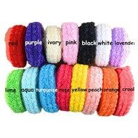 7 Yards Pcs 1 6 Width Shabby Frayed Trim Chiffon Fabric Rosette Flowers For DIY Garment