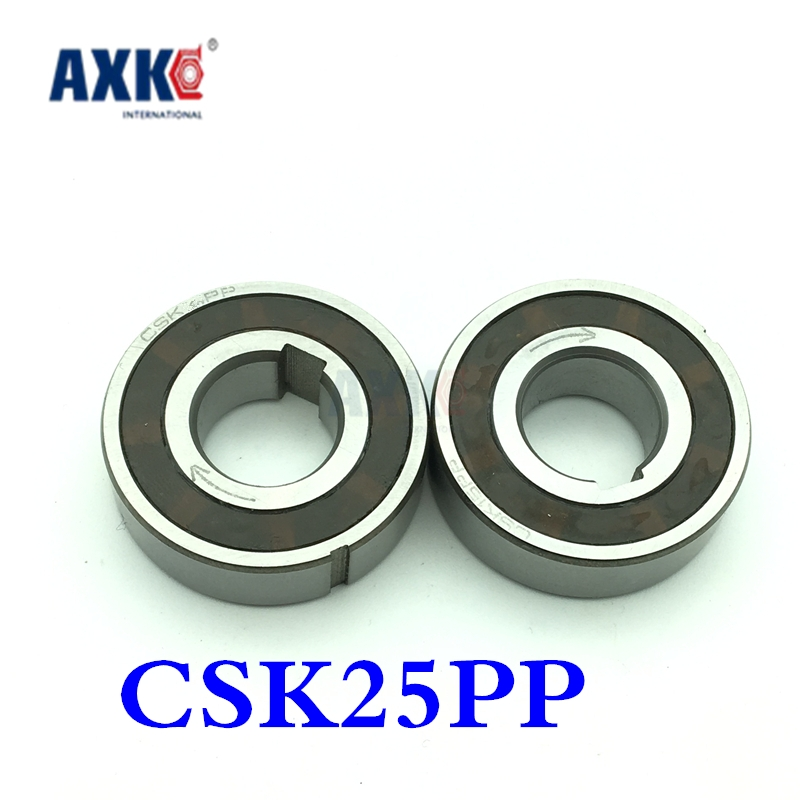 2017 New Csk25pp Csk25 One Way Clutches Sprag Type (25x52x15mm) Bearings Bearing Supported Freewheel Clutch With Double Keyway mz15 mz17 mz20 mz30 mz35 mz40 mz45 mz50 mz60 mz70 one way clutches sprag bearings overrunning clutch cam clutch reducers clutch