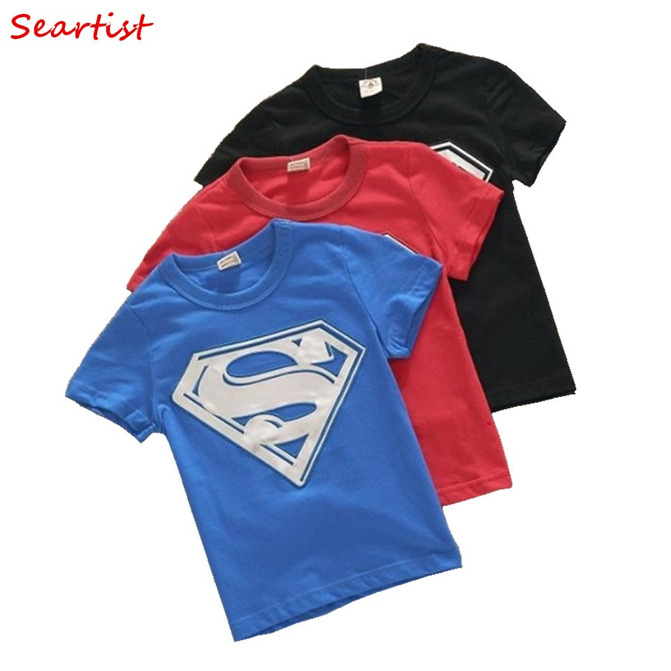 Seartist Baby Boys Summer T Shirt Boy Short Sleeve T-shirt Kids Cotton Top Tee 2018 New Arrival 20 cotton bull and letters print round neck short sleeve t shirt