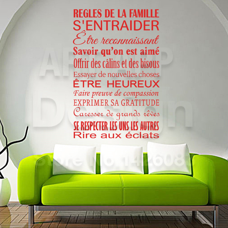 Aliexpress Buy Art New Design Cheap Home Decor French Quote