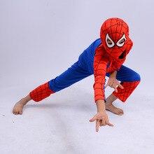 Halloween Party Spider Men Spidermen Cosplay Costumes for Ki