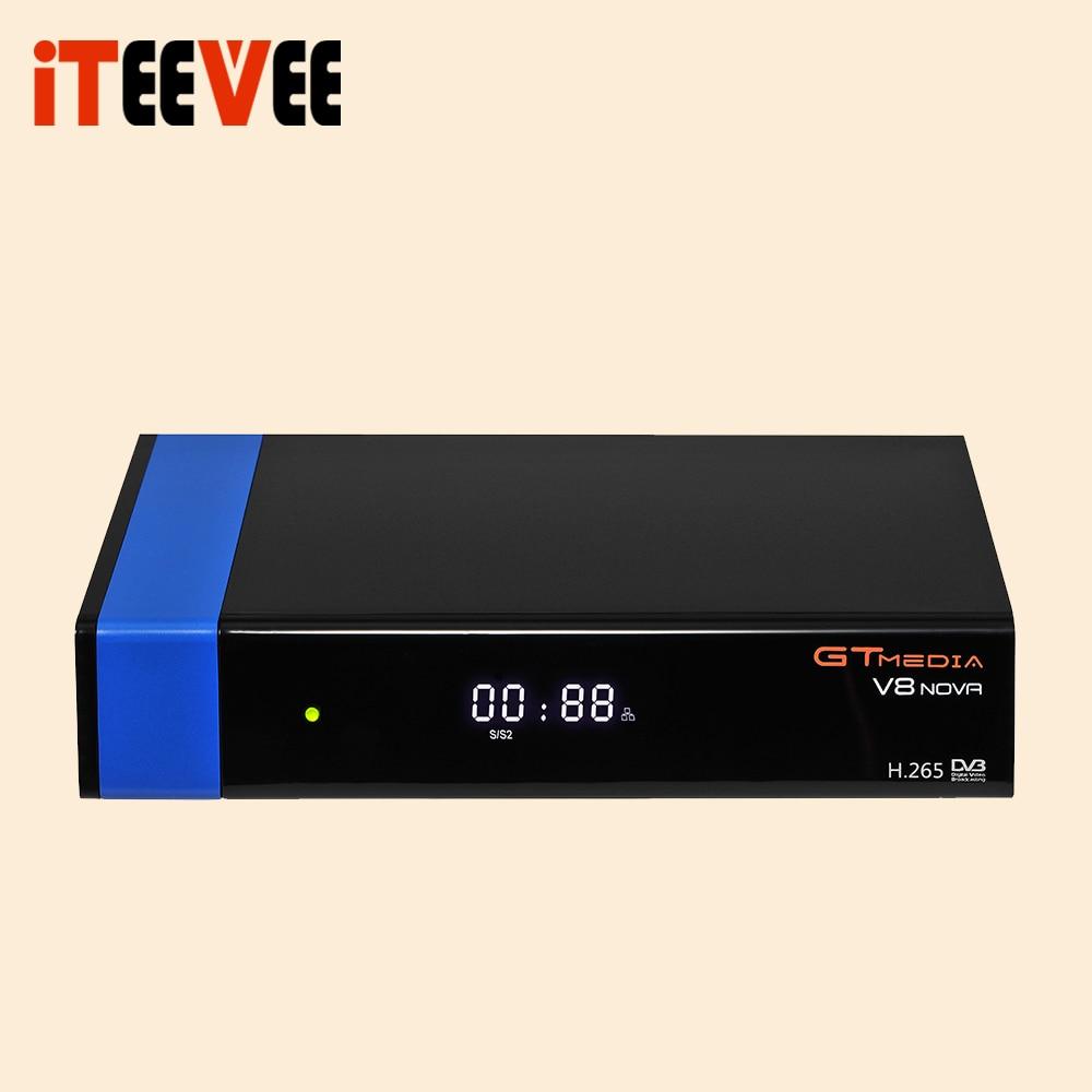 2019 Gtmedia V8 NOVA Blue support H 265 better free sat V8 super V9 super set