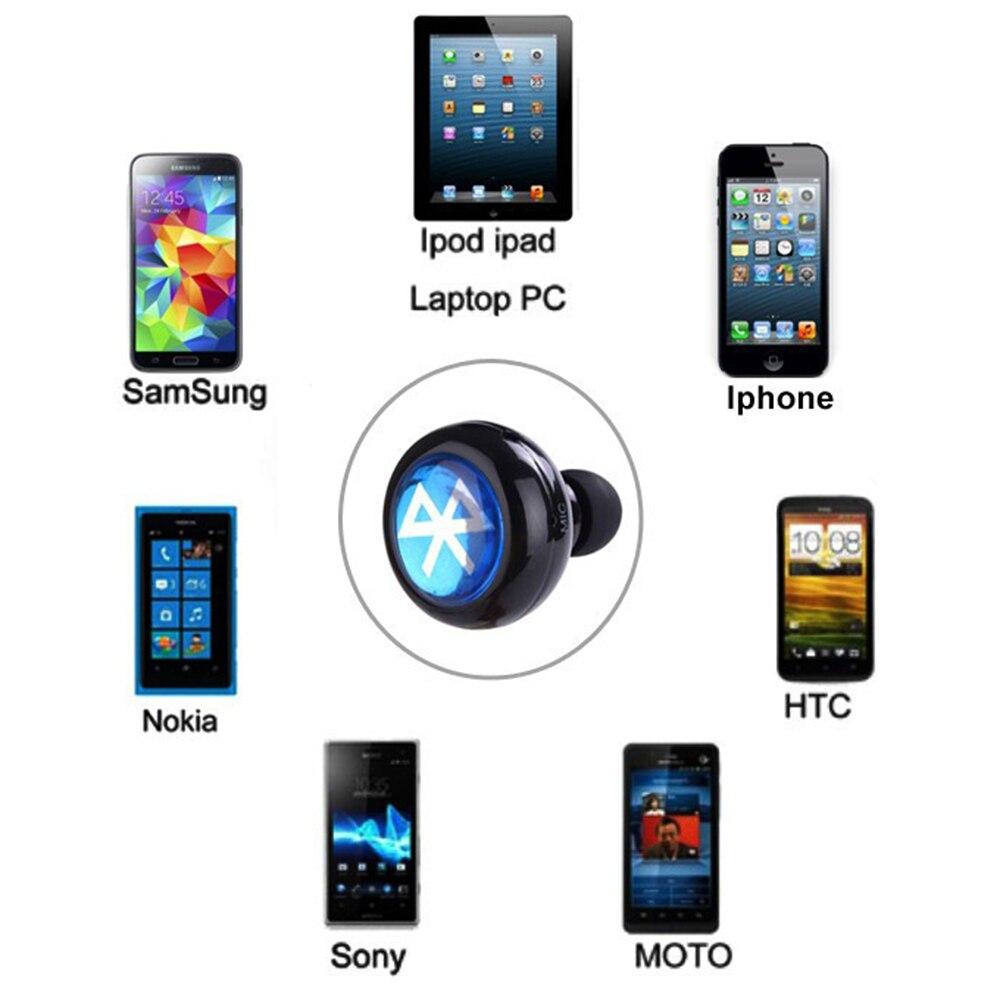 Mini Casque Bluetooth Écouteur sans fil Casque Écouteur auriculares mains libres headfone bluetooth avec Micro Pour Huawei Mate 8