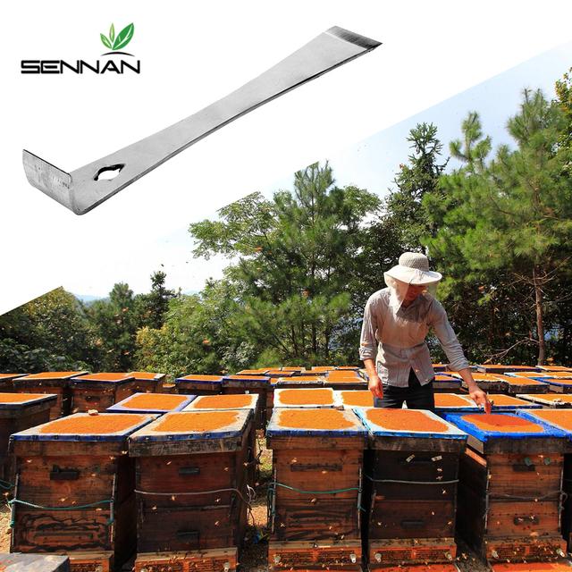 Stainless Steel Honey Type Hive Scraper Tool Bee Keeper Flat Knife Equipment Beekeeper Extractor Scraper Beekeeping Tools