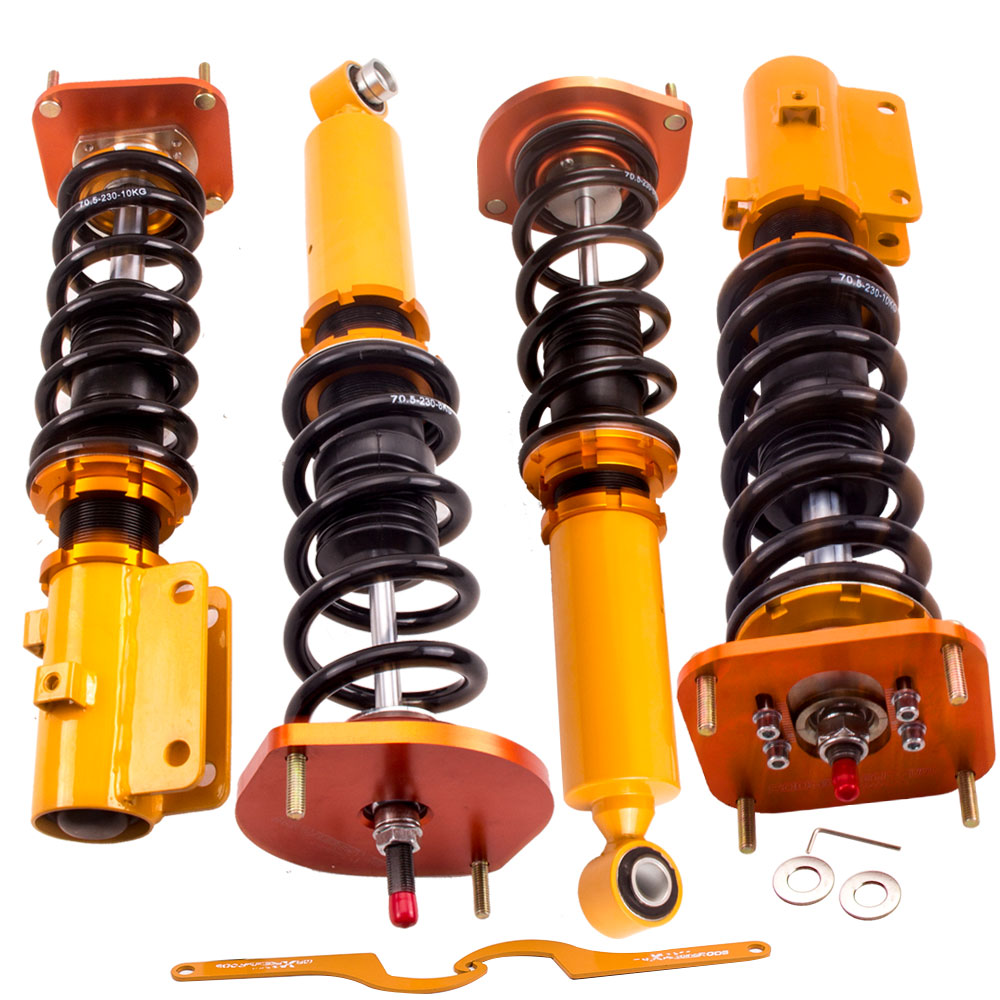 Coilover Sospensione per Mazda FC3S Damper Regolabile Altezza Ammortizzatore Tipo Mcpherson Ammortizzatori Primavera Ammortizzatore Coupé Convertibile
