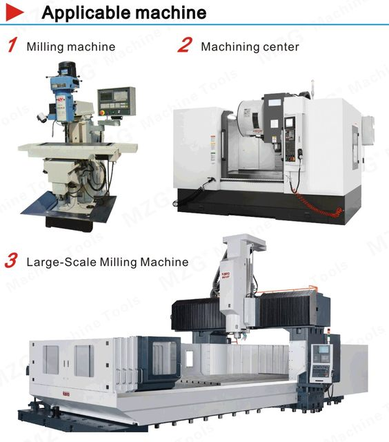 Milling Applicable machine