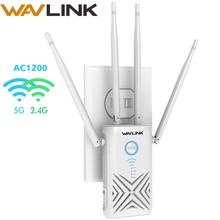 Wavlink 5 ГГц 1200 Мбит/с Wi-Fi маршрутизатор/ретранслятор/точка доступа Высокая мощность двухдиапазонный гигабитный беспроводной WiFi диапазон wifi усилитель сигнала