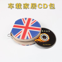 20pcs Disc Capacity Tidy Sleeve CD DVD Car Case Wallet Storage Holder Bag With Brand Car Logo Free shipping
