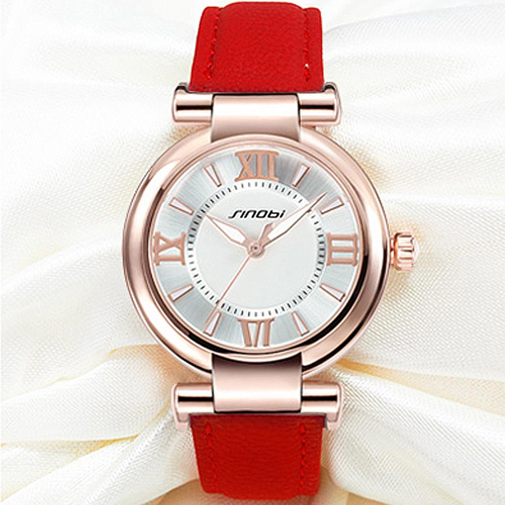 SINOBI Stylish Simplicity Fashion Quartz Wirst Watch For Women цена 2017
