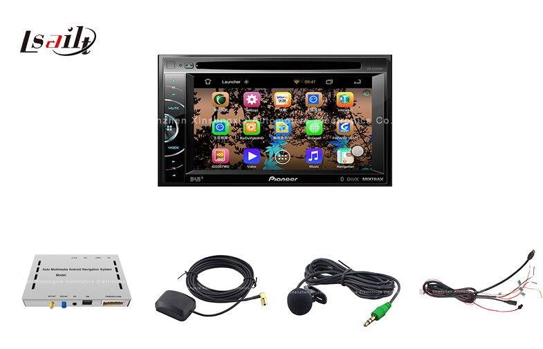 Universal Android GPS navigation box für pioneer einheit mit cast screen bluetooth wifi
