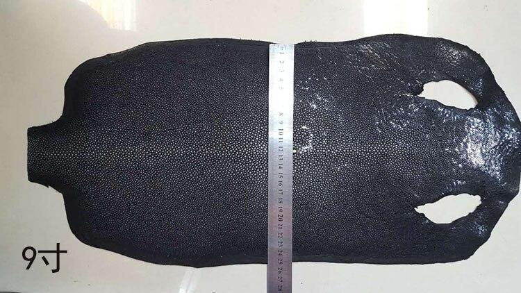 En cuir pièce Véritable Galuchat Naturel Manta En Cuir Artisanat pour artisanat cuir Ceinture matériel pour poignées de couteau Ray Peau de Poisson