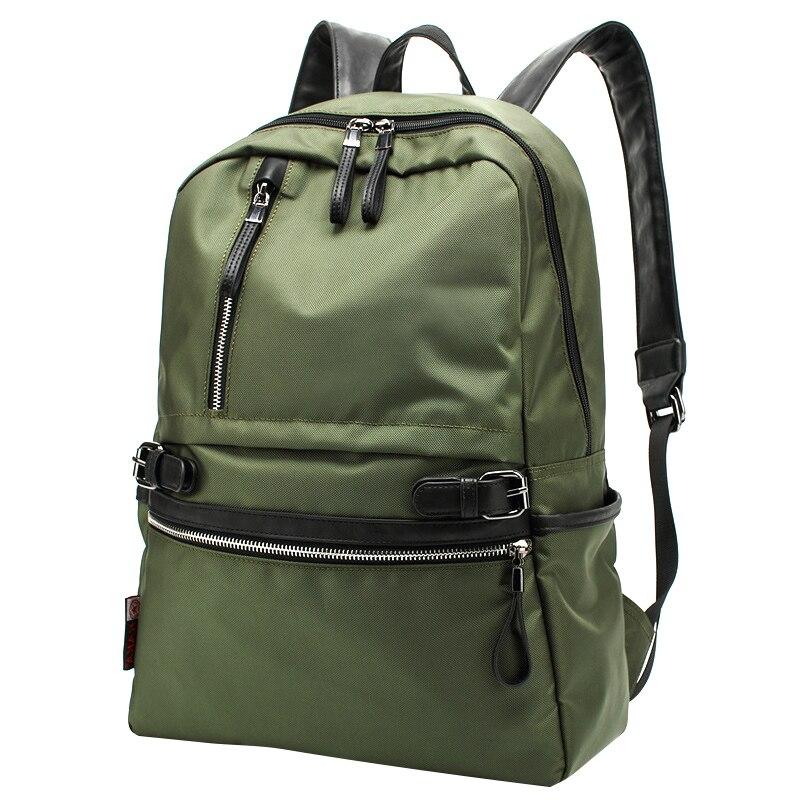 Fashion Camouflage Patchwork Backpack Unisex Large Capacity Zipper Backpack New Design Mens Travel Back Pack