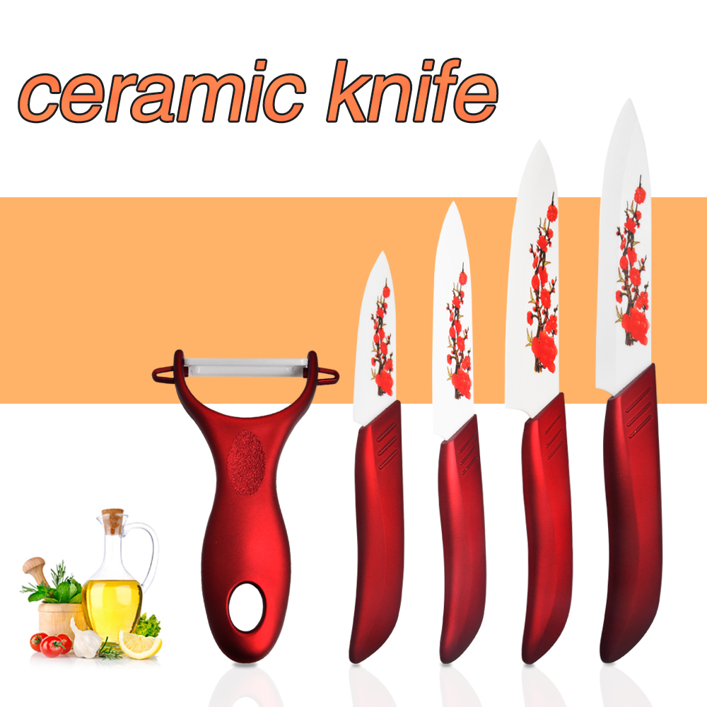 Five sets high quality ceramic knife set cooking tools 3 4 for Gambar kitchen set high quality