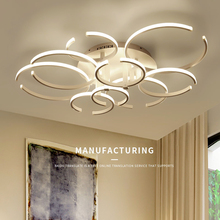 Modern ceiling lights Novelty Aluminum LED living room fixtures bedroom lamps Nordic Home Ceiling lighting