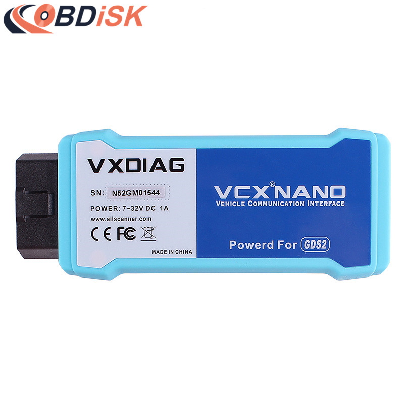 2017 New VXDIAG VCX NANO for GM Opel GDS2 Diagnostic Tool VXDIAG for Opel GM Scanner