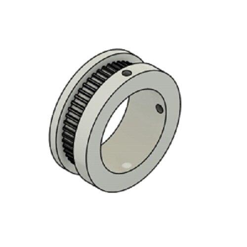 GT2 courroie synchrone//dent/ée 2GT-6 largeur 6mm 2 pi/èces 80mm pas 2mm