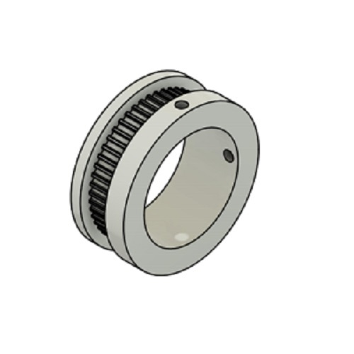 High quality custom size 50 tooth 2GT aluminum timing pulley GT2 for 6mm or 6.35mm timing belt