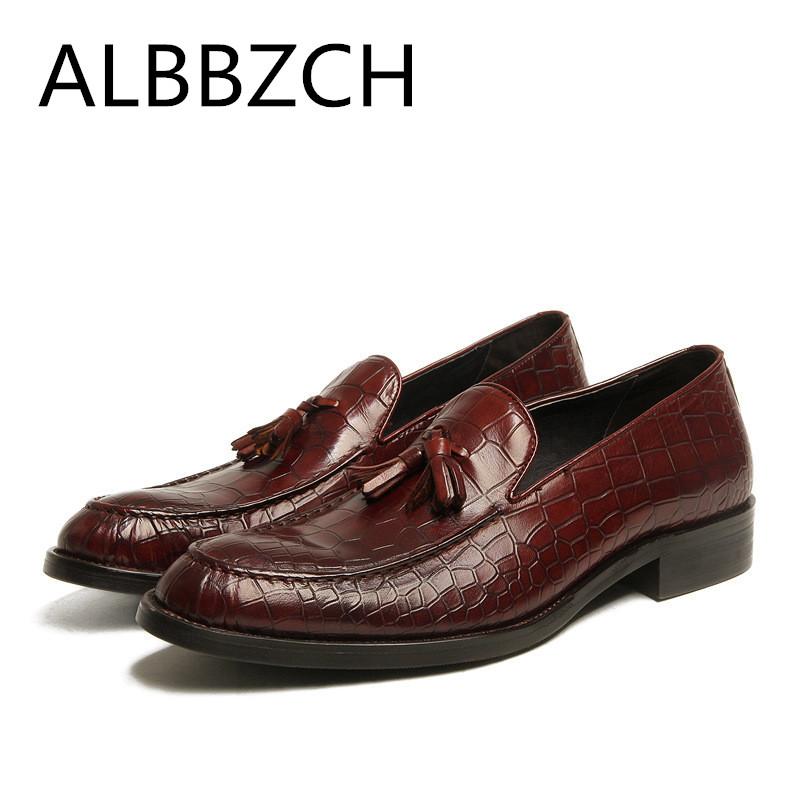 Fashion tassel embossed leather dress shoes men slip on wedding shoes mens oxford business leisure party office work shoes manFashion tassel embossed leather dress shoes men slip on wedding shoes mens oxford business leisure party office work shoes man