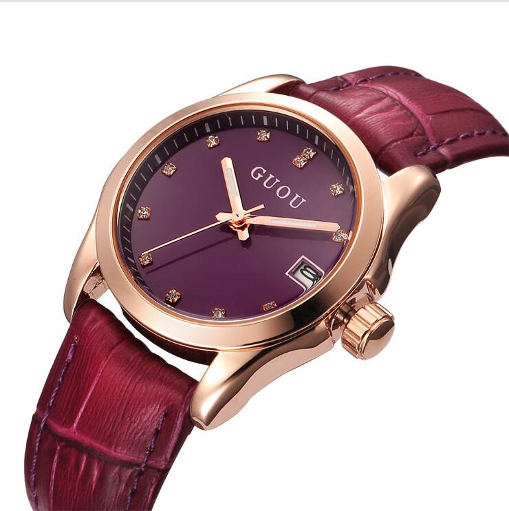 Relogio Feminino GUOU Brand Women Watches Top Luxury Diamond Watch Fashion Modern Leather Ladies Watch Clock relogio Reloj MujerRelogio Feminino GUOU Brand Women Watches Top Luxury Diamond Watch Fashion Modern Leather Ladies Watch Clock relogio Reloj Mujer