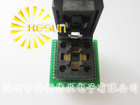 FREE SHIPPING CHIP PROGRAMMER SOCKET TQFP32 QFP32 LQFP32 TO DIP28 Adapter Socket Support ATMEGA8 Series