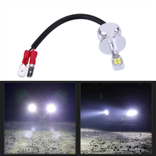 Venta caliente 2 unids H3 LED 22 W 3000LM Coche Faros LED Blanco Brillante estupendo Led de Luz de Lámpara de Coches Bombilla Styling Car Niebla luces