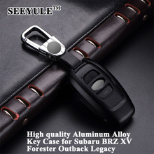 hot deal buy 1pc seeyule styling car key case cover key protector shell storage bag car accessories for subaru xv brz forester outback legacy