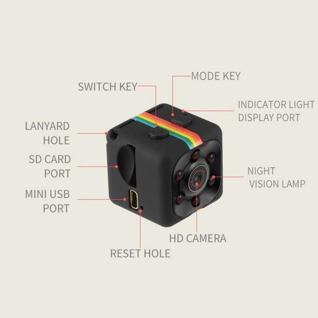 HONGDAK Mini Kamera SQ11 SQ8 HD Camcorder Nachtsicht Micro kamera 1080 P Sport Mini DV Stimme Video Recorder für Auto fahren