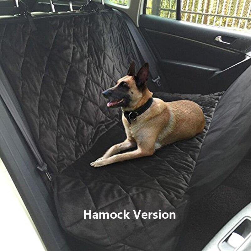 Haustier Hund Auto Hinten Bank Zurück Sitz Abdeckung Matte wasserdicht Hängematte stil und Zurück Abdeckung von SUV für pet produkte hund zubehör