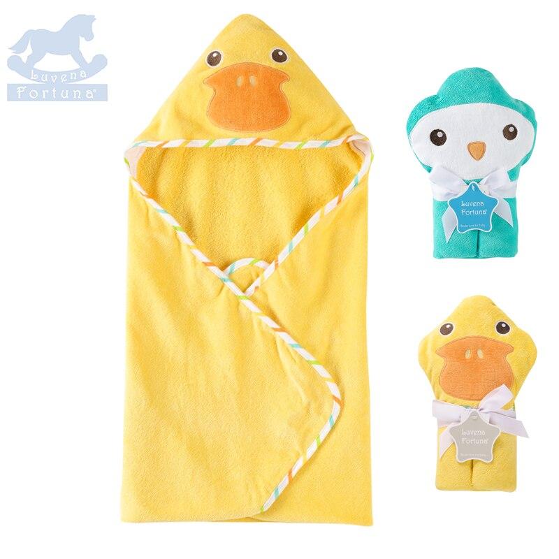Luvena Fortuna Baby Handdoek 3D Animal Badhanddoek Super Zachte Baby - Beddegoed - Foto 1
