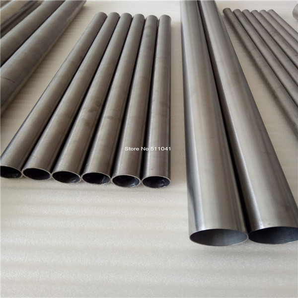 Ti titanium metal grade 2 Gr2 titanium tube auto exhaust titanium pipe,free shipping Paypal is available