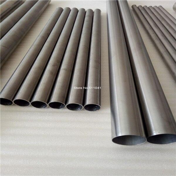 Ti titane métal grade 2 Gr2 titane tube auto échappement titane tuyau, livraison gratuite Paypal est disponible