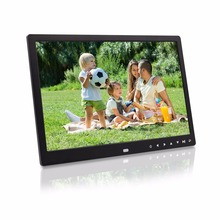 13 inch 7 touch buttons infront support 1080P picture video player digital album photo frame advertising machine