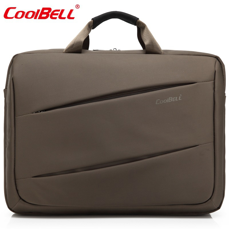 COOLBELL 17.3Large Laptop Bag Waterproof handbag Notebook Computer Unisex Briefcase Shoulder Messenger Bag For Men Women-FF