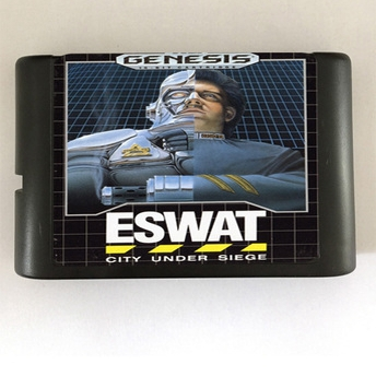 ESWAT - 16 bit MD Games Cartridge For MegaDrive Genesis console