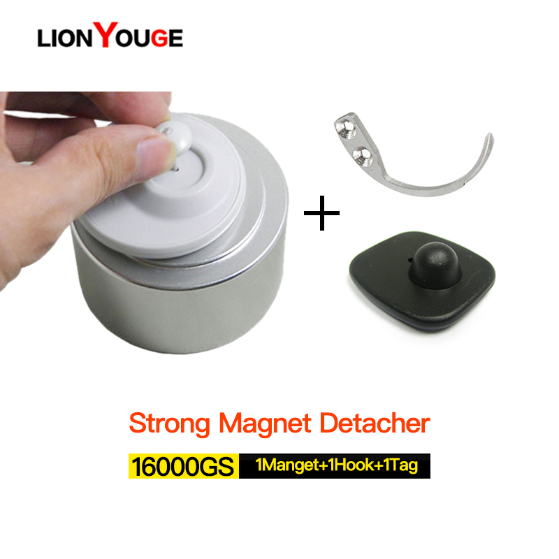 Free Shipping Universal Strong magnetic detacher 16000GS Eas hard tag Remover