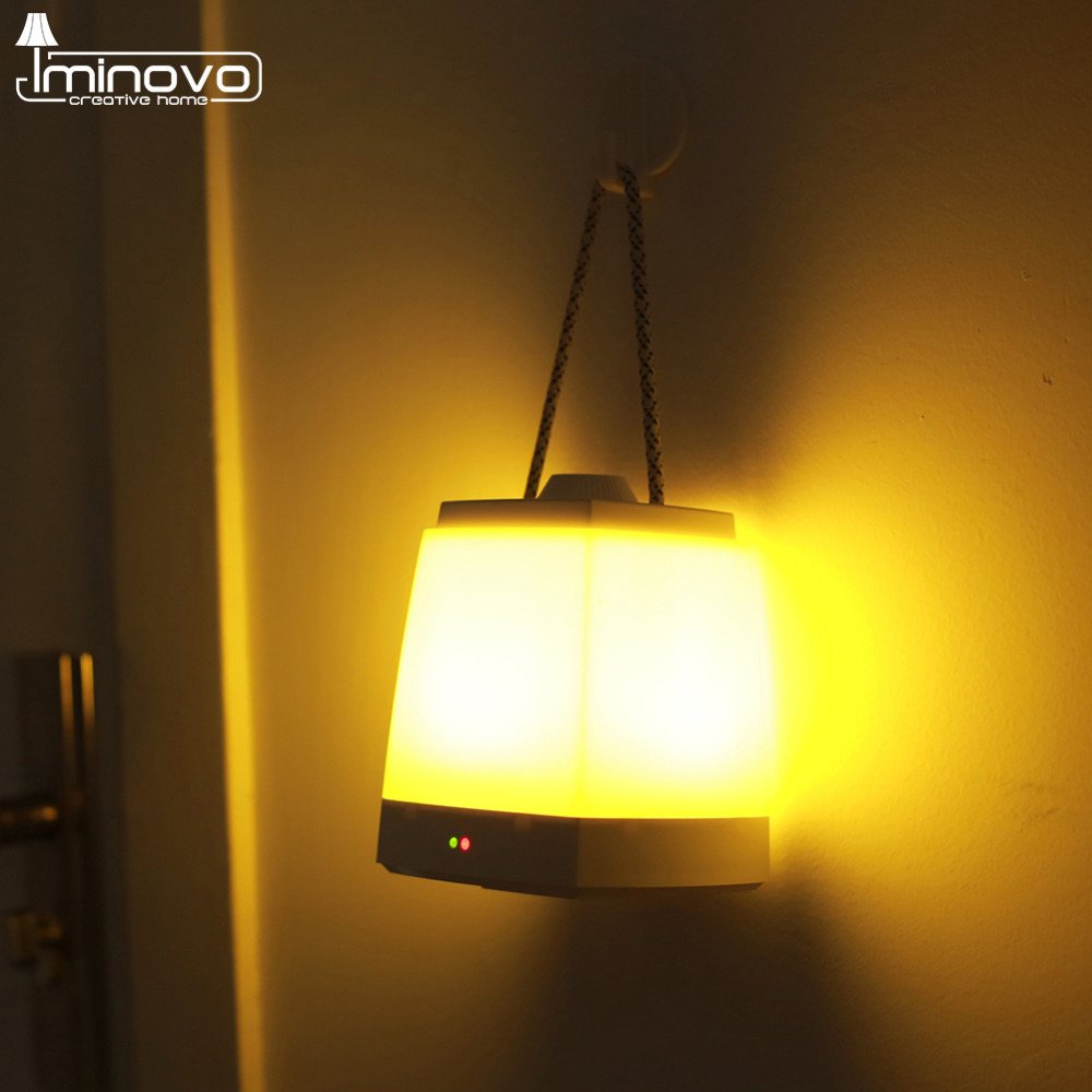 Lamps with night light - Aliexpress Com Buy Iminovo Portable Lantern Hanging Night Lights Usb Hand Lamp Emergency Light Indoor And Outdoor Led Lights Book Lamps From Reliable