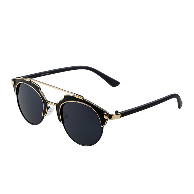 952cdd798 New 2015 fashion vintage sunglasses Good quality Design men women retro  eyewear round frame glasses Oculos De Sol Feminino