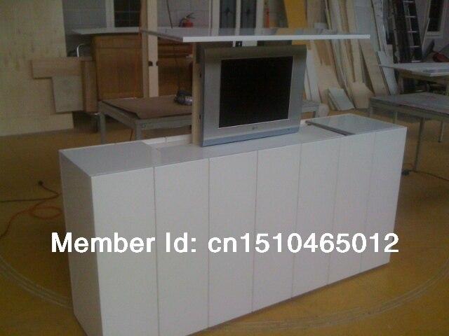Бесплатная доставка моторизованный Кабинета Лифт Телевизор и телевизор шкаф с двигателя подъемник для кровати Лифт для телевизора