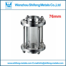 """3"""" 76mm Stainless Steel 304 Tri Clamp Sanitary Sight Glass"""