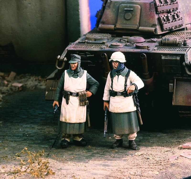 1:35 robe de neige d'infanterie allemande